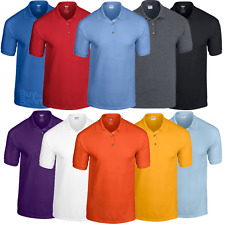 GILDAN UOMO POLO GOLF SPORT ESTATE DRYBLEND TRASPIRANTE colletto alla moda S-2XL