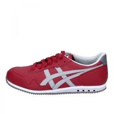 scarpe donna ONITSUKA TIGER by ASICS sneakers rosso pelle AH831