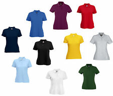 FRUIT OF THE LOOM Lady-Fit Polo Donna 10 COLORI