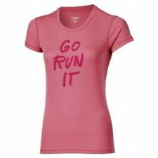 Camiseta Asics Graphic SS Top Rosa Mujer