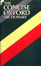 The Concise Oxford Dictionary of Current English - [Oxford University Press]