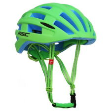 Casco MSC Road Inmold Safety Verde