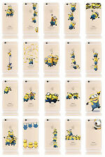 """Minions Case/Cover iPhone 8 (4.7"""") Despicable Me + Screen Protector / Silicone"""