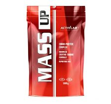 Mass Up 5kg Muscle Fast Weight Serious Gainer All One Optimum Activlab Mutant