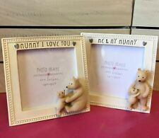 Mummy I Love You Picture Frame Photo Baby Bear Mothers Day Gift Me & My Mum