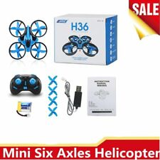 New H36 Mini RC Drones Helicopter Quadcopter Flying Toys Drone Radio Control GC