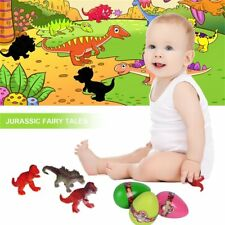 3Pc Magic Incubation Eggs Hatching Growing Dinosaur Eggs Educational Toy For K#L