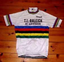 46cf7c155 Vintage retro cycling jersey RALEIGH TI CAMPAGNOLO cycling top ...
