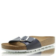 BIRKENSTOCK Madrid BF Lack dress blue LS weiß