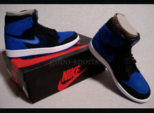 Nike Air Jordan 1 Retro High Flyknit BG Black Blue Gr 37 37,5 38 38,5 919702 006