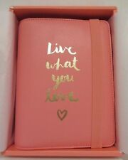 New! Kikki K  2016 Medium Watermelon Personal Leather Planner Live What You Love