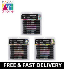 Full Range Winsor & Newton Pro Markers Manga Expansion Packs Sets Chibi Fantasy