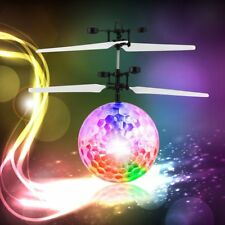Magic Electric Infrared Sensor Flying Ball Helicopter LED Light Toy Kids Gift RB