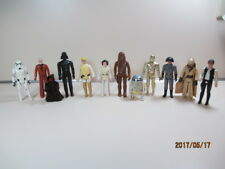 STAR WARS 1977 Vintage Original  Loose figures Leia Luke Darth Han Ben R2D2 C3P0