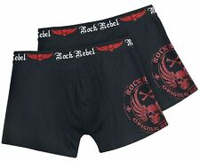 Rock Rebel by EMP Devil's Plaything Boxer nero