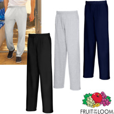FRUIT OF THE LOOM HOMME pantalon de jogging léger Pull bas survêtement
