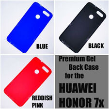 For Honor 7X Matte Soft Silicon Back Cover Case Pouch