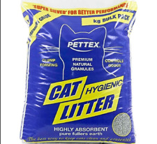 PETTEX CAT LITTER 3KG, 5KG,10KG OR 20KG  – CAT LITTER- MINERAL – FULLERS EARTH