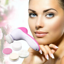 5-1 Multifunction Electric Face Facial Cleansing Brush Spa Skin Care massage P#o