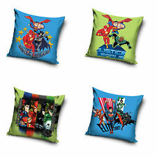 Justice League LIGA DE LA JUSTICIA Funda de almohada Pillowcase 40 x 40cm