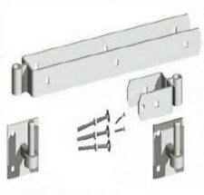 """12"""" 18"""" 24"""" DOUBLE STRAP HINGE field farm SET WITH HOOKS ON PLATE GALV (PACK) D1"""