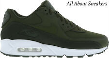 "Nike Air Max 90 Essential ""Sequoia/White/Cargo Khaki"" Men's Trainer Limited Stok"