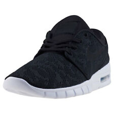 Mens Nike SB Stefan Janoski Max Mesh & Textile Black White Shoes Trainers
