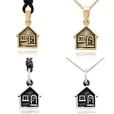 Sweet Home House 92.5 Sterling Silver Charm Necklace Pendent Jewelry