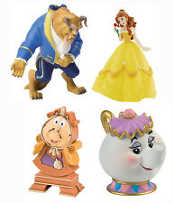 Bullyland Disney Bella e la Bestia Figure Topper per torta Bella Potts Cogsworth