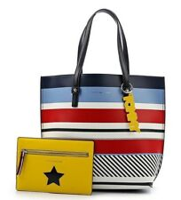 TOMMY HILFIGER AW0AW05264/903 TTH EFFORTLESS NS TOTE PRINT SAC À MAIN