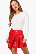 Boohoo Petite Lottie Basic Long Sleeve Bodysuit para Mujer
