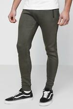 Boohoo Skinny Fit Jogger With Contrast Waist Band para Hombre