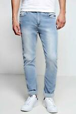 Boohoo Stone Washed Stretch Skinny Fit Jeans para Hombre