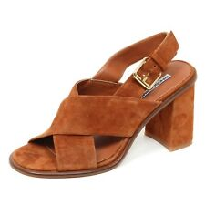 E0190 (WITHOUT BOX) sandalo donna WINDSOR SMITH TAVIS  suede shoe woman