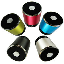 5 Color Bluetooth Wireless Portable Mini Speaker For Phone Tablet MP3 TF Card