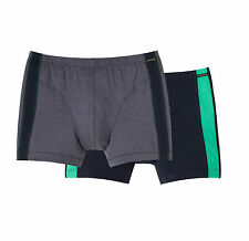 Schiesser Hombres Hipster Shorts 2 Paquete Doble T. 5 6 7 8 Ropa Interior M-XXL