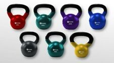 KETTLEBELL GHIRIA from 4 to 32KG GHISA IN PLASTICA RIVESTIMENTO PERFETTO CASA