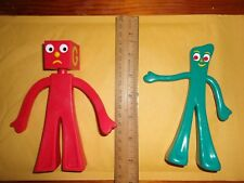 Lot of 3 figures - Gumby and Blockhead G and Blockhead J (NRFC)