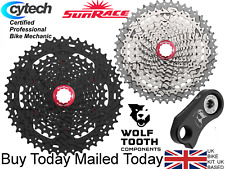 Sunrace MX3 10 speed 11-42T 11-46T SRAM Shimano SLX XT R eady Wolftooth Goatlink