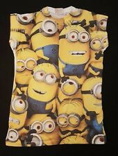 PRIMARK LADIES THE MINIONS DESPICABLE ME T SHIRT TEE SHIRT TOP UK 6 - 18
