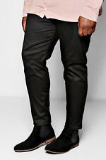 Boohoo Big and Tall Slim Fit Chino Trouser With Stretch para Hombre