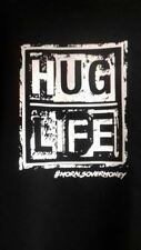 Hug Life T-Shirt Hip Hop Morals Over Money Free Next Day Delivery