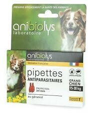 Anibiolys - 2 Pipettes Antiparasitaires