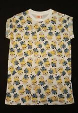 PRIMARK LADIES THE MINIONS DESPICABLE ME T SHIRT TEE SHIRT TOP UK 6 or 14