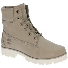 Timberland Heritage Lite 6-Inch Pure Cashmere Womens Nubuck Ankle Lace-up Boots