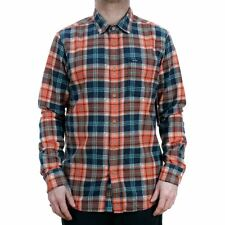 Volcom Hayden Long Sleeved Flannel Shirt Scream Red 2018 Collection NEW