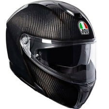 AGV SportModular Casque Moduler Motorrad Openface Flip-up Full Carbone Brillant
