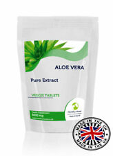ALOE VERA estratto 6000mg vitamine 30/60/90/ 120/180 compresse in RICHIUDIBILE