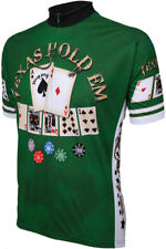 Mens Cycling Jersey World Jerseys Texas Hold em bike bicycle