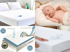 WATERPROOF TERRY TOWELLING MATTRESS PROTECTOR FITTED SHEETS COT BED SINGLE KING